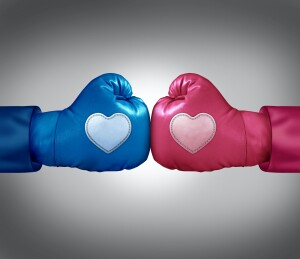 Couple Boxing Gloves